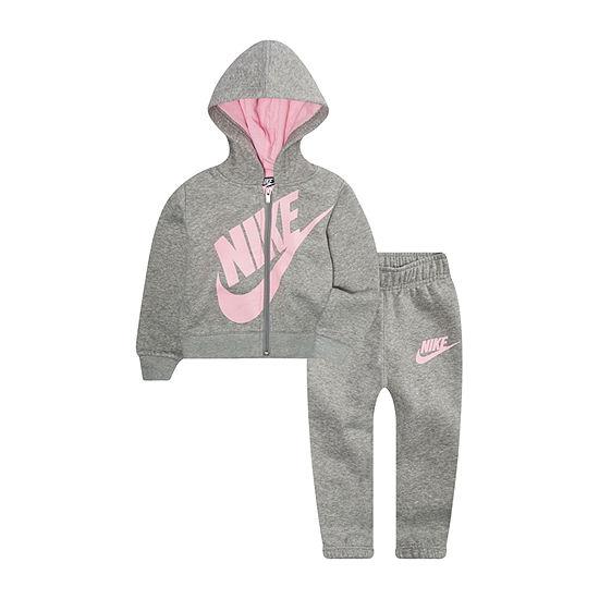 Nike Girls 2-pc. Logo Pant Set