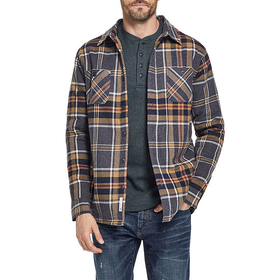 American Threads Sherpa Lined Midweight Shirt Jacket