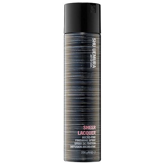 shu uemura Sheer Lacquer- Micro Fine Finishing Spray