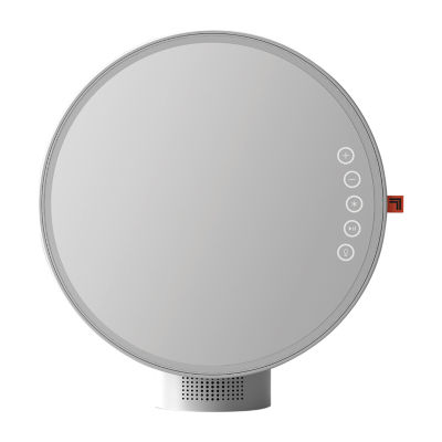 Sharper Image LED Vanity Mirror & Speaker