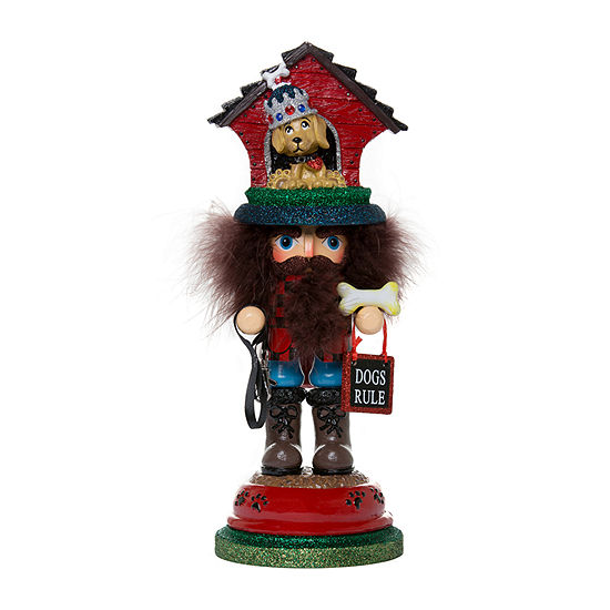 Kurt Adler 13-Inch Hollywood Doghouse Hat Christmas Nutcracker