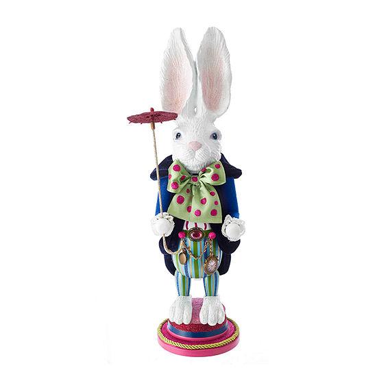 Kurt Adler 18-Inch Hollywood™ White Rabbit Christmas Nutcracker