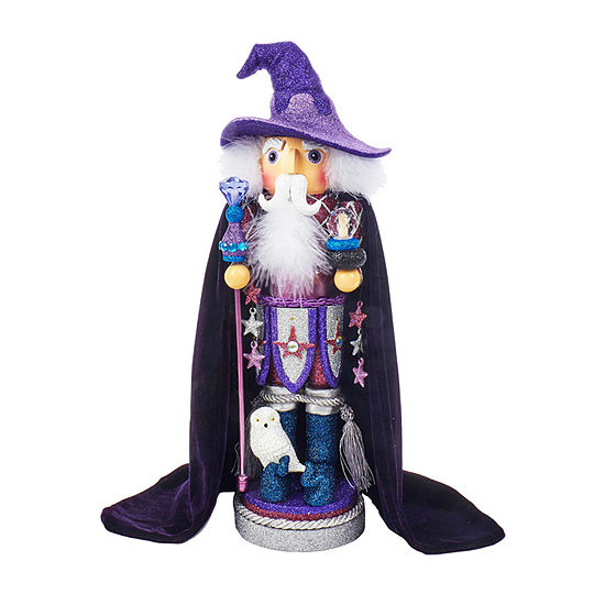 Kurt Adler 18-Inch Hollywood™ Purple Wizard Nutcracker