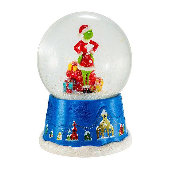 Kurt Adler 100mm The Grinch™ Musical Water Globe SnowGlobes
