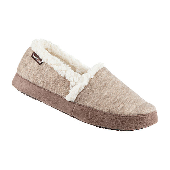 Isotoner Knit Closedback Womens Slip-On Slippers