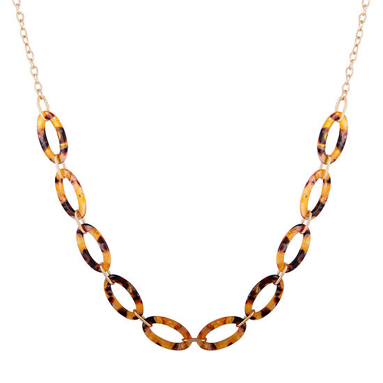Bijoux Bar 18 Inch Link Necklace