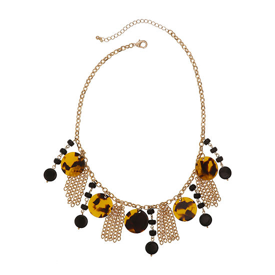 Mixit 18 Inch Cable Statement Necklace