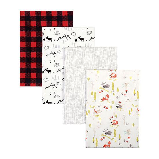 Trend Lab 4-pc. Checked Blanket Unisex