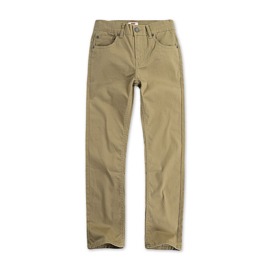 Levi's 502 Stay Dry Big Boys Straight Flat Front Pant