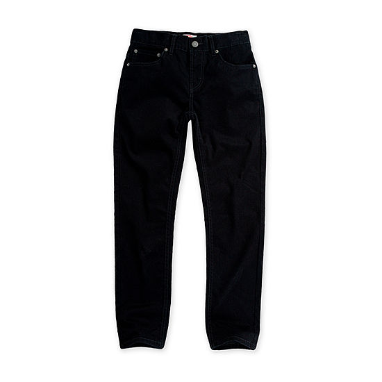 Levi's Boys 502 Stay Dry Pant Straight Flat Front Pant-Big Kid