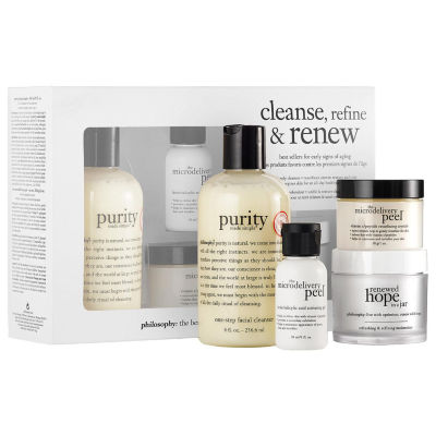 philosophy Cleanse, Refine & Renew Kit
