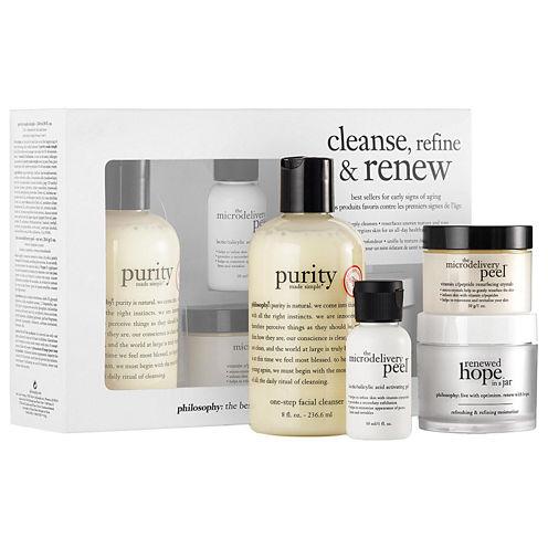 philosophy Cleanse, Refine & Renew Kit