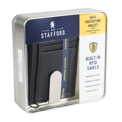 Stafford® RFID Money Clip Front Pocket Wallet