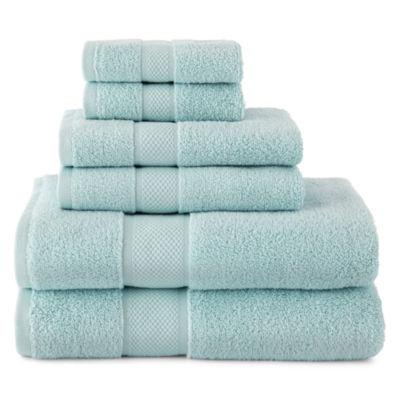 Liz Claiborne MicroCotton 6pc Bath Towel Set