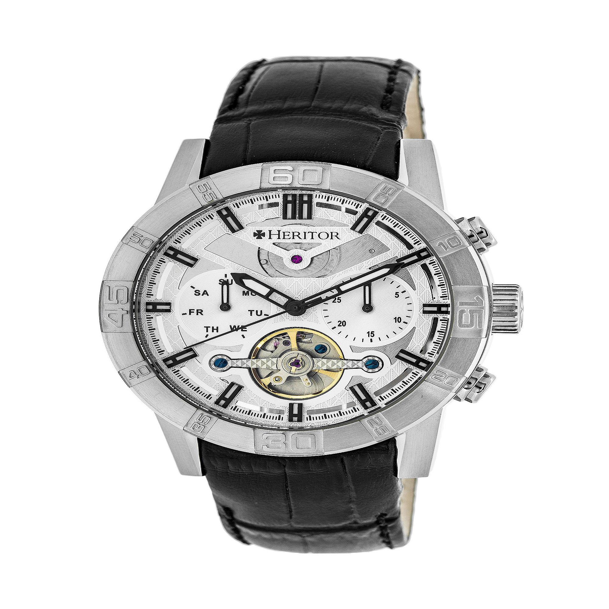 Swiss Eagle Polar King Mens Two-Tone Strap Chronograph Watch SE-9053-44