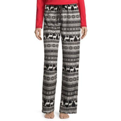 Sleep Chic Fleece Plaid Pajama Pants
