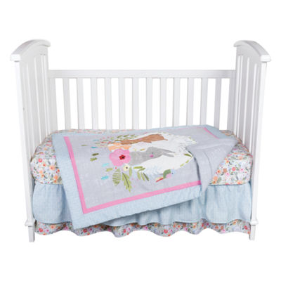 My Little Friends 6-pc. Crib Bedding Set