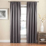 Eclipse Tricia Thermapanel Room Darkening Rod-Pocket Curtain Panel