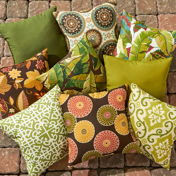 "17"" Outdoor Accent Pillow Set Of 2"