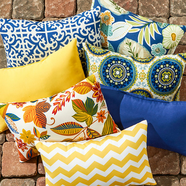 Jcpenney Outdoor Throw Pillows : Outdoor Accent Pillow Set Of 2 - JCPenney