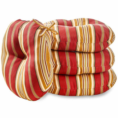 "15"" Outdoor Bistro Chair Cushion Set of 4"