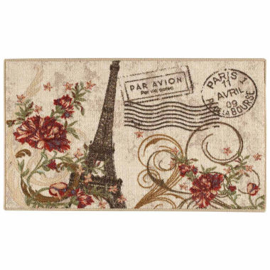 Paris Eiffel Tower Rug