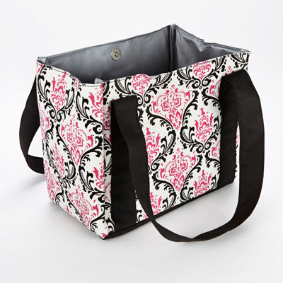 Fit & Fresh® Pink Damask Venice Lunch Bag with Ice Pack