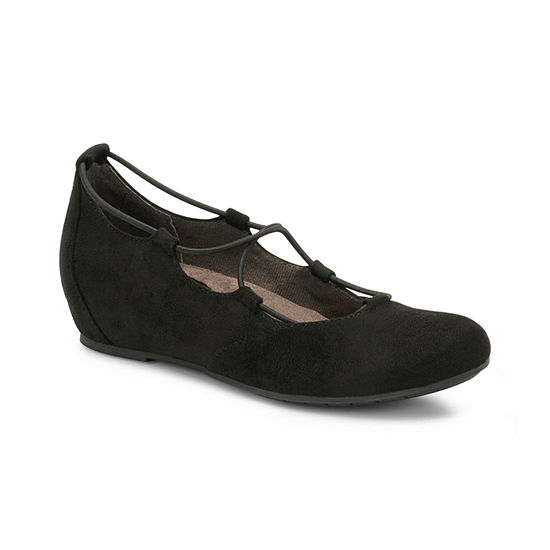 Eurosoft Womens Sookie Ballet Flats Closed Toe