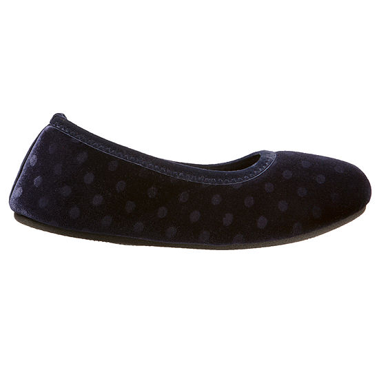 Isotoner Womens Ballerina Slippers