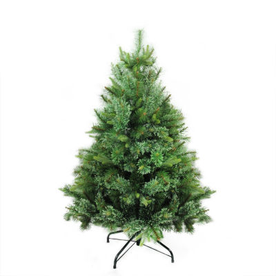 "4.5' x 37"" Cashmere Mixed Pine Full Artificial Christmas Tree - Unlit"""