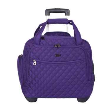 IT Luggage Quilt It Rolling Under The Seat Carry-On