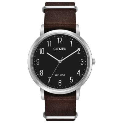 Citizen Mens Brown Strap Watch-Bj6500-04e