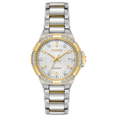 Citizen Womens Two Tone Bracelet Watch-Ew2464-55a