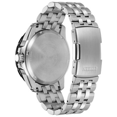 Citizen Mens Silver Tone Strap Watch-Aw7048-51e