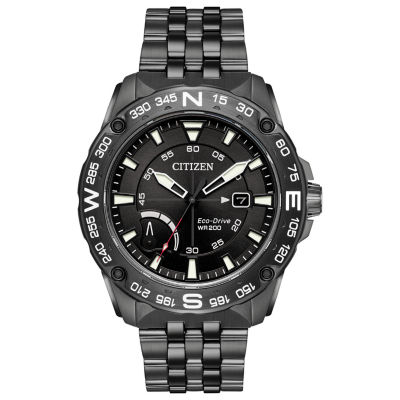 Citizen Mens Gray Bracelet Watch-Aw7047-54h