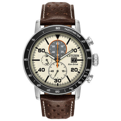 Citizen Mens Brown Bracelet Watch-Ca0649-06x