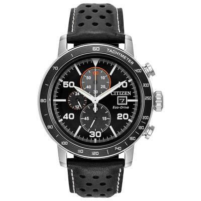 Citizen Mens Black Strap Watch-Ca0649-14e