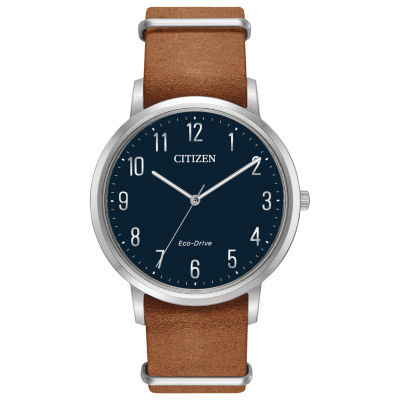Citizen Mens Brown Bracelet Watch-Bj6500-12l