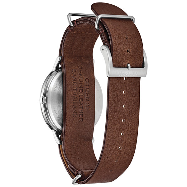 Citizen Mens Brown Bracelet Watch-Bj6500-21a