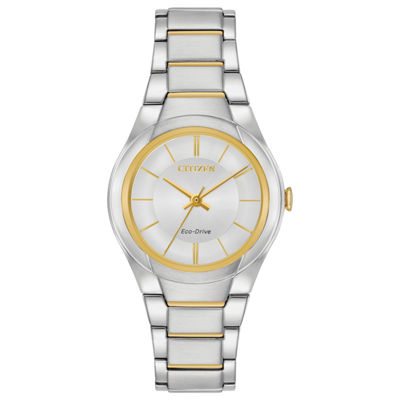 Citizen Womens Two Tone Bracelet Watch-Fe2094-51a