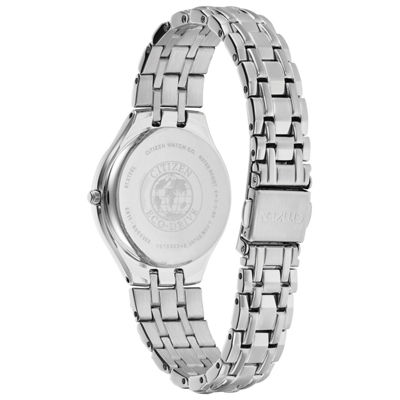 Citizen Womens Silver Tone Strap Watch-Ew2490-55a