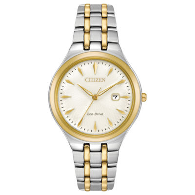 Citizen Womens Two Tone Strap Watch-Ew2494-54a