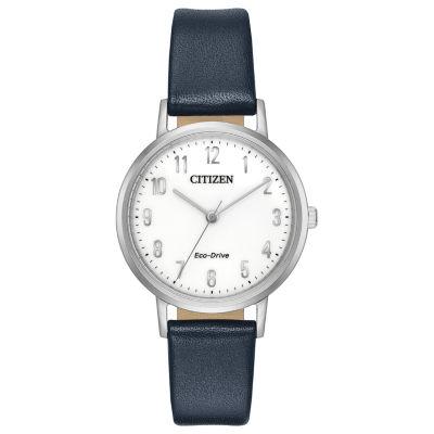 Citizen Womens Blue Strap Watch-Em0570-01a