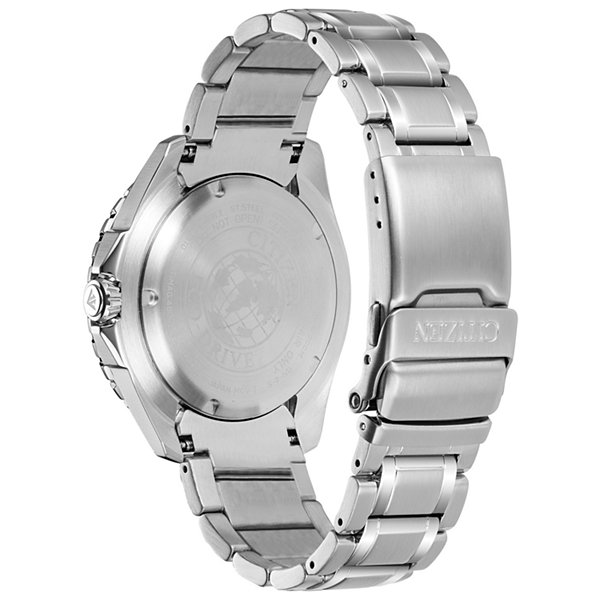Citizen Mens Silver Tone Bracelet Watch-Bn0191-55l