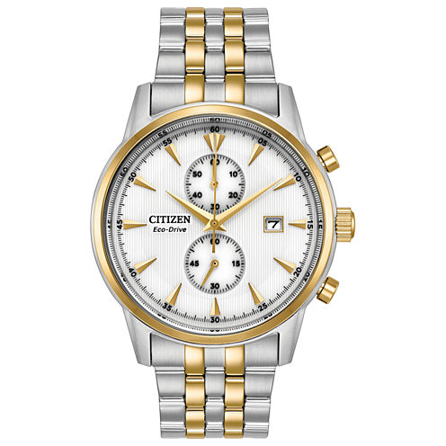 Citizen Mens Two Tone Bracelet Watch-Ca7004-54a
