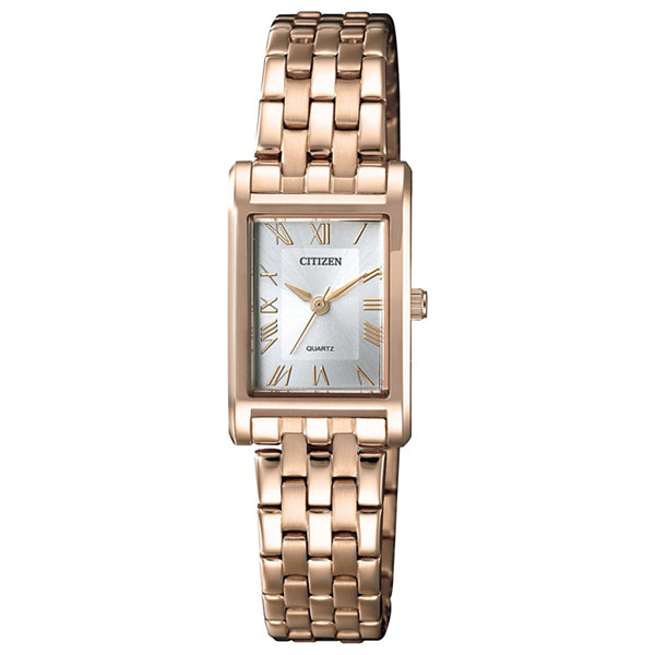Citizen Quartz Womens Two Tone Bracelet Watch-Ej6123-56a