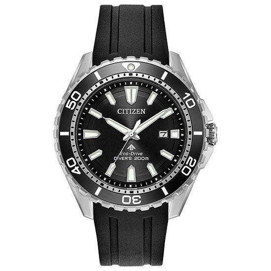 Citizen Mens Black Strap Watch Bn0190 07e