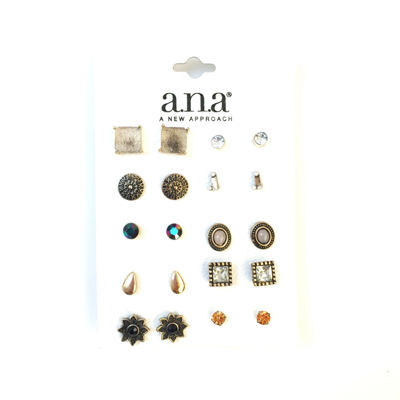 a.n.a 10 Pair Earring Sets