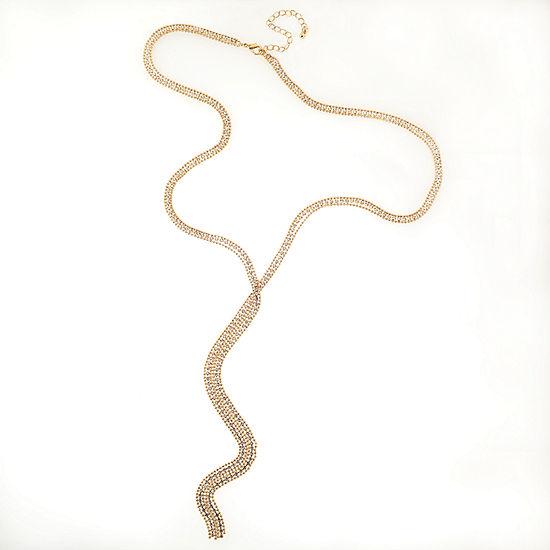 Bijoux Bar 18 Inch Bead Y Necklace