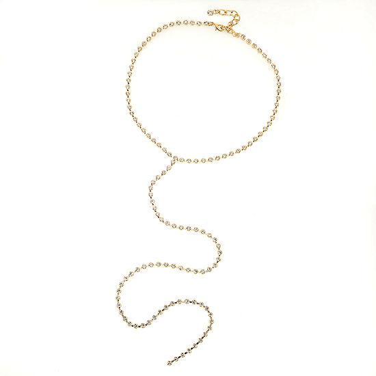 Bijoux Bar 20 Inch Link Y Necklace